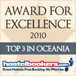 Hostelbookers Award for Excellence 2010